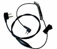 3M™ PELTOR™ Przewód do zastosowań związanych z myślistwem, z mikrofonem oraz PTT, z prostą wtyczką, TAMT06